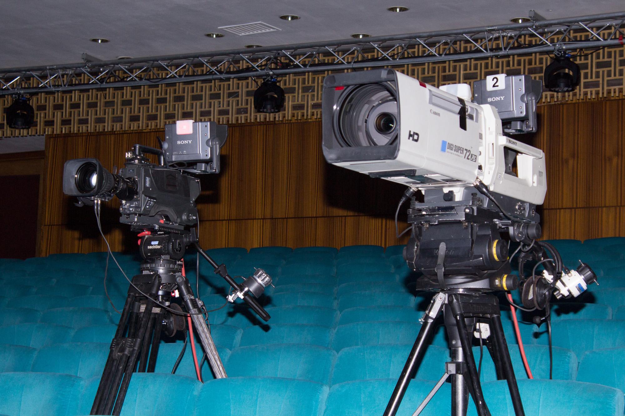 Відеокамери в залі